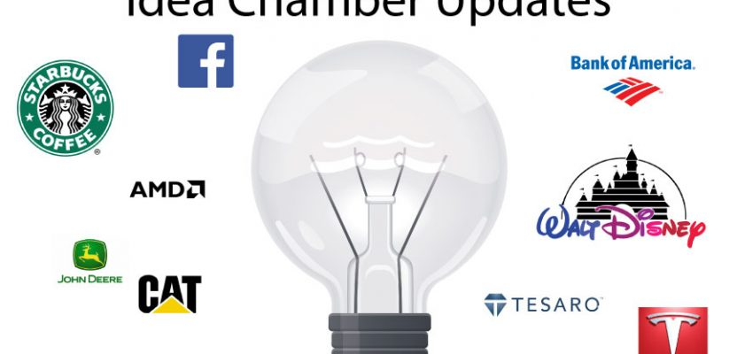 10/29/2017 – Idea Chamber Stock Updates